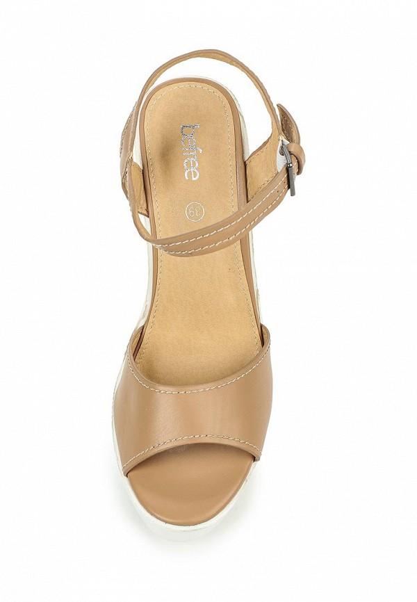 Босоножки на каблуке Befree (Бифри) 1626033043: изображение 4
