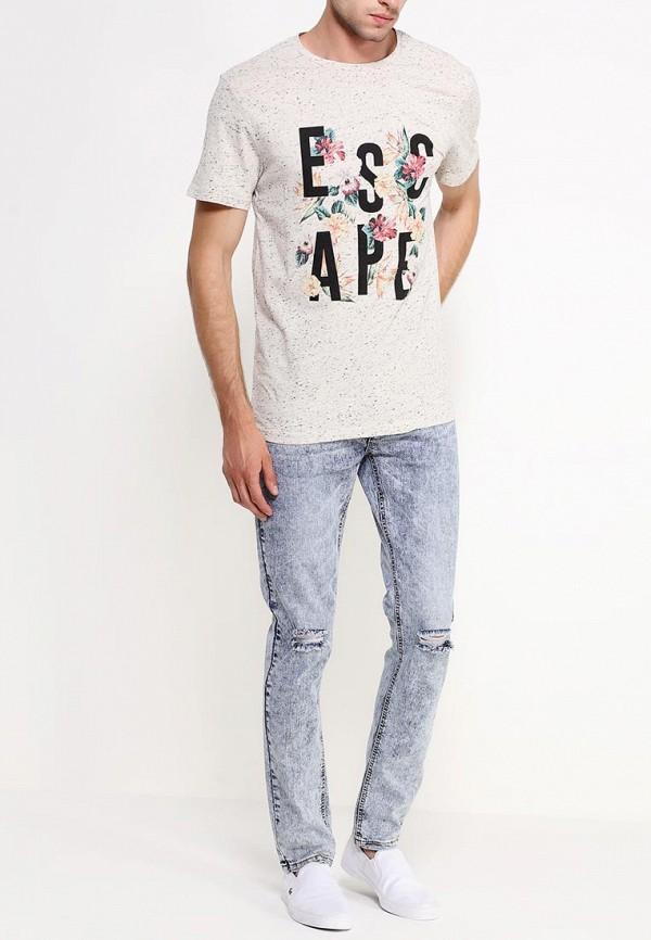 Мужские прямые джинсы Befree (Бифри) 529062709: изображение 3
