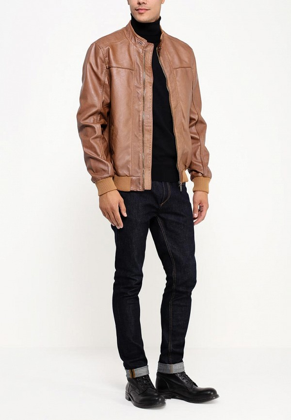 Кожаная куртка Befree 539016102: изображение 3