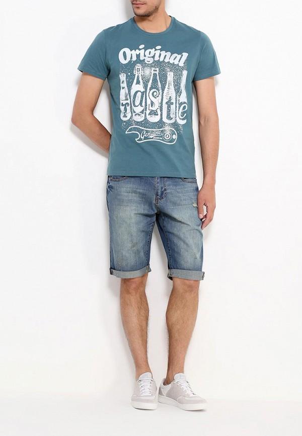 Мужские джинсовые шорты Befree (Бифри) 629509728: изображение 2