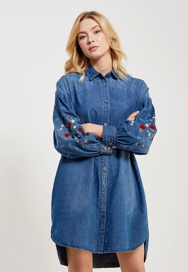 Платье джинсовое Befree Befree BE031EWADML8 roccat taito midsize