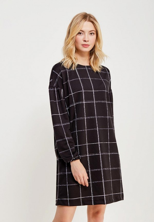 Купить Платье Befree, BE031EWADMT0, черный, Весна-лето 2018