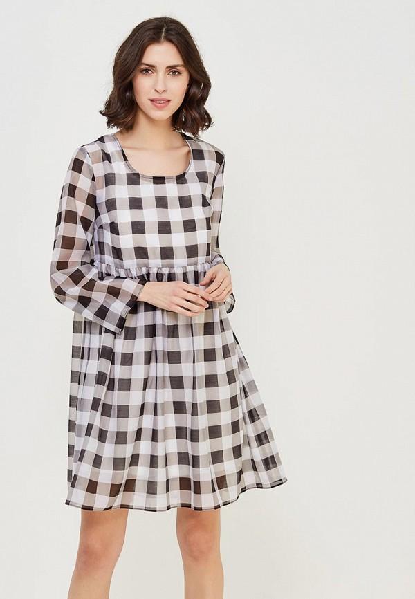 Купить Платье Befree, BE031EWADNA9, серый, Весна-лето 2018