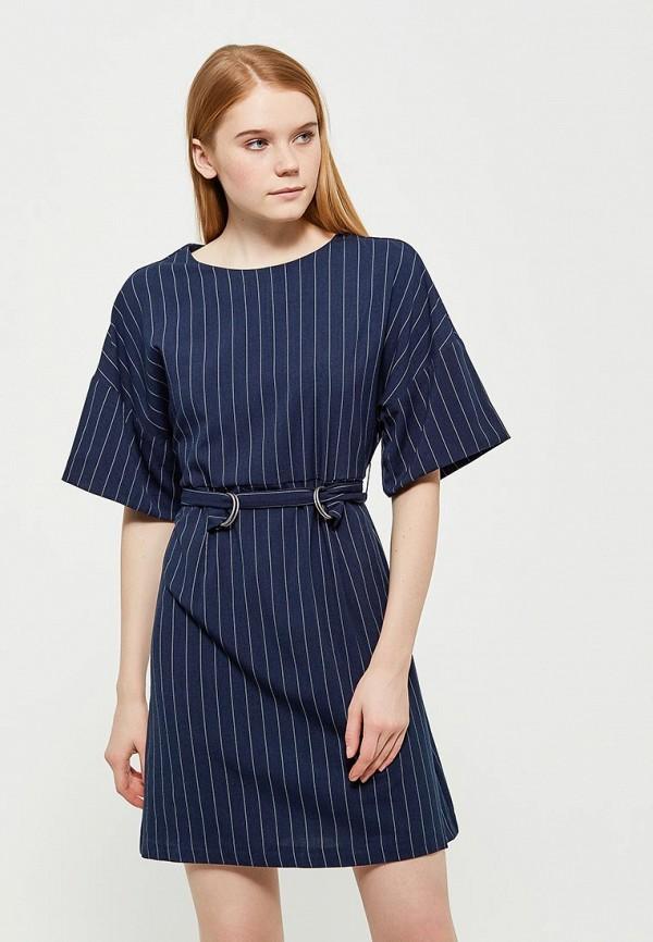 Купить Платье Befree, BE031EWADNH9, синий, Весна-лето 2018
