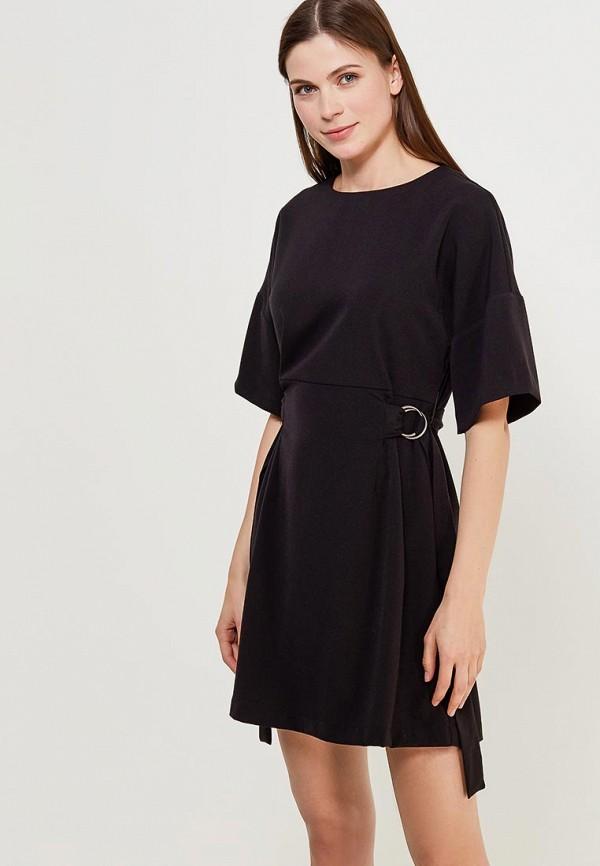 Купить Платье Befree, BE031EWADNI0, черный, Весна-лето 2018