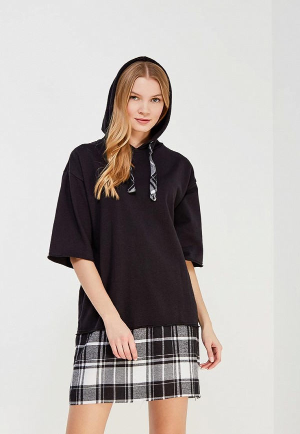 Купить Платье Befree, BE031EWADNU8, черный, Весна-лето 2018