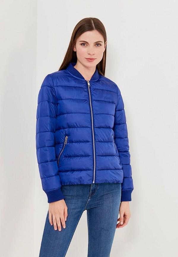 Купить Куртка утепленная Befree, BE031EWADNV5, синий, Весна-лето 2018