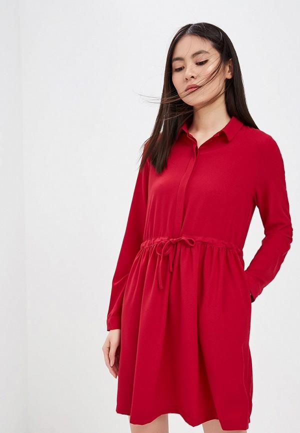 Купить Платье Befree, BE031EWADOV8, красный, Весна-лето 2018