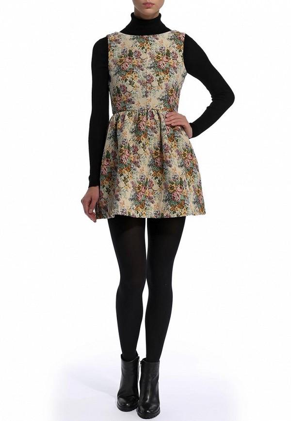 Платье-мини Befree (Бифри) 1431143554: изображение 4