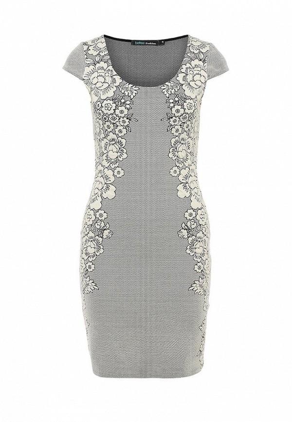 Платье-миди Befree (Бифри) 1431183572: изображение 1