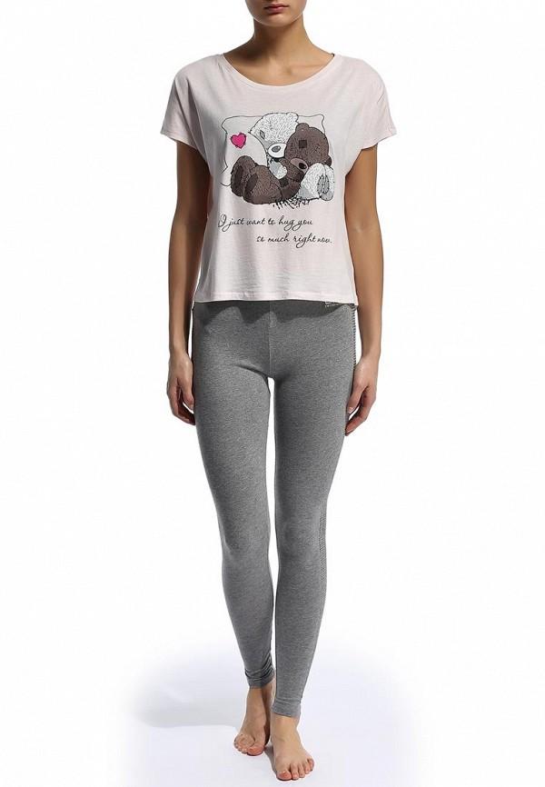 Домашняя футболка Befree (Бифри) 1441006410: изображение 3