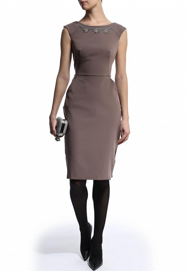 Платье-миди Befree (Бифри) 1441073523: изображение 3