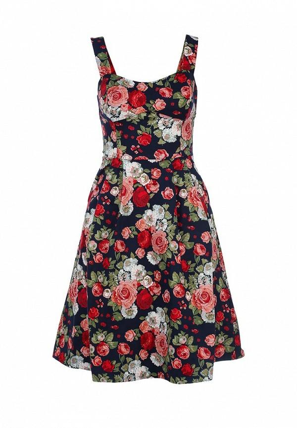 Платье-миди Befree (Бифри) 1521051535: изображение 1