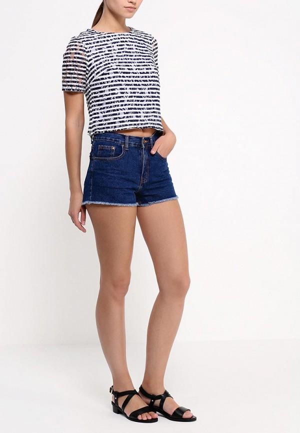 Женские джинсовые шорты Befree (Бифри) 1521115724: изображение 3