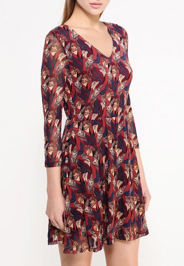 Платье-миди Befree (Бифри) 1531273526: изображение 3