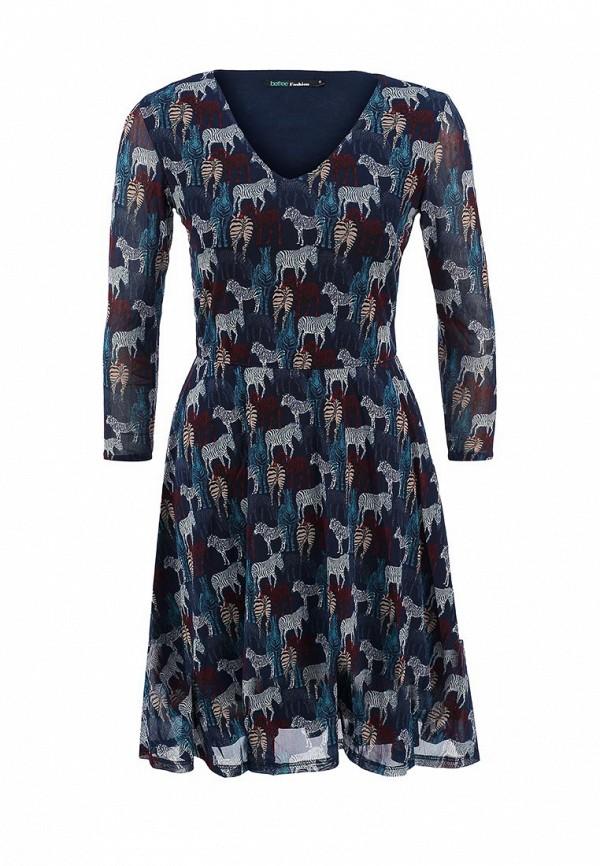 Платье-миди Befree (Бифри) 1531273526: изображение 1