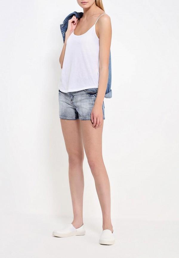 Женские джинсовые шорты Befree 1621451708: изображение 2