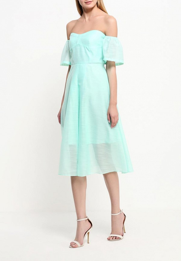 Платье-миди Befree (Бифри) 1621582563: изображение 2