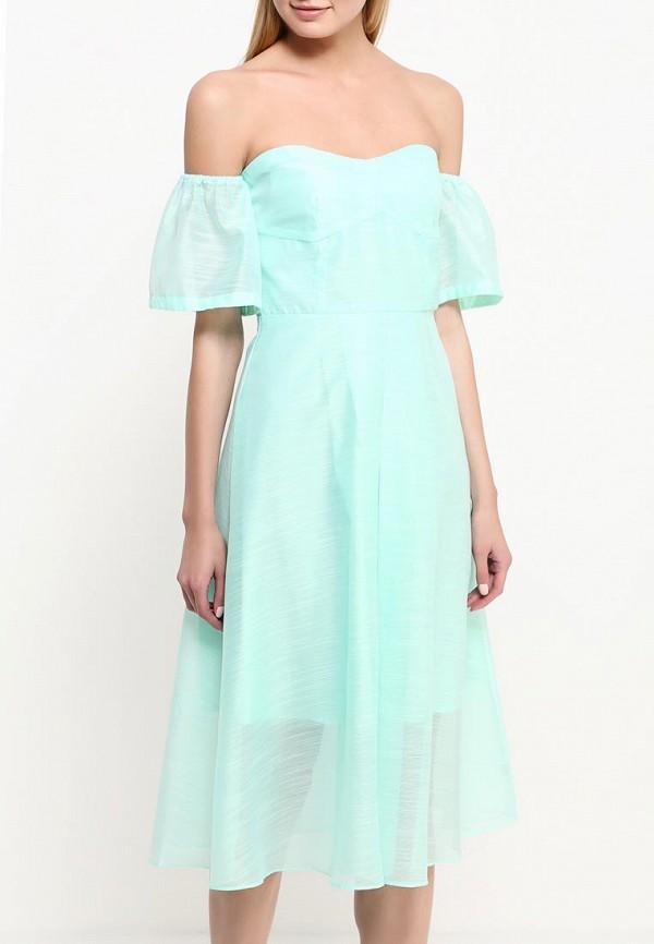 Платье-миди Befree (Бифри) 1621582563: изображение 3