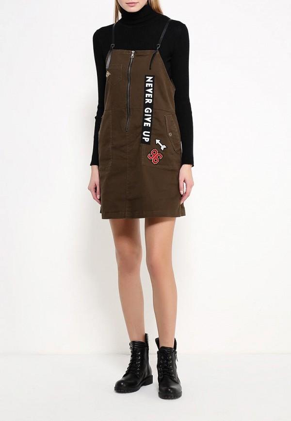 Платье-мини Befree (Бифри) 1631157555: изображение 2