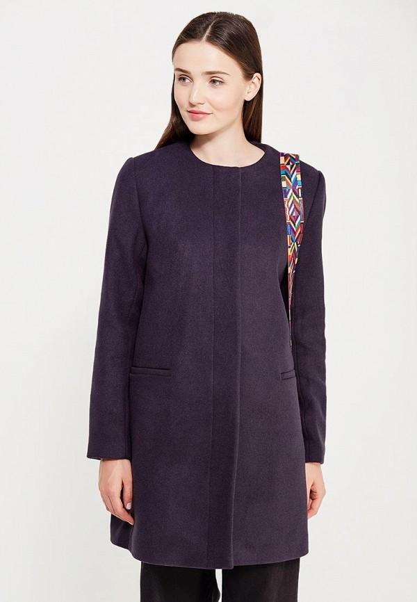 Фото - женское пальто или плащ Befree синего цвета