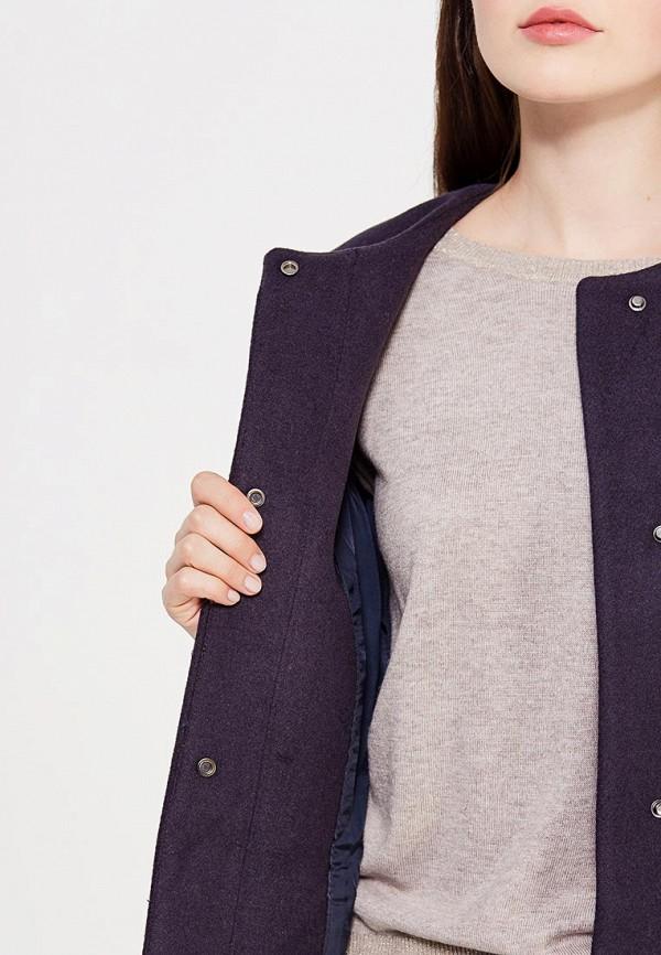 Фото 4 - женское пальто или плащ Befree синего цвета