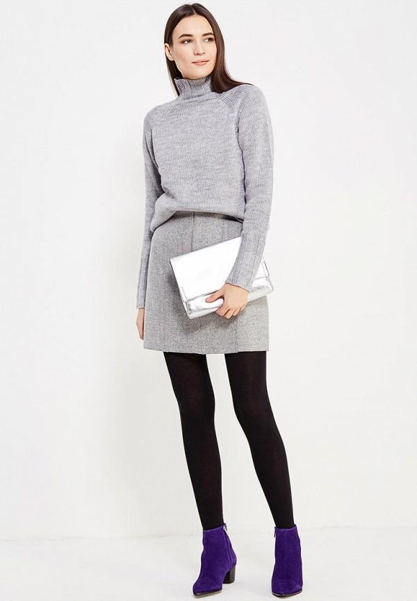 Фото 2 - женский свитер Befree серого цвета