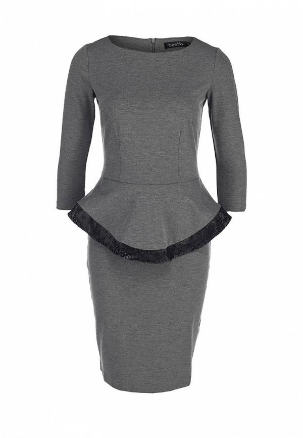 Платье-миди Bestia 52000323: изображение 1