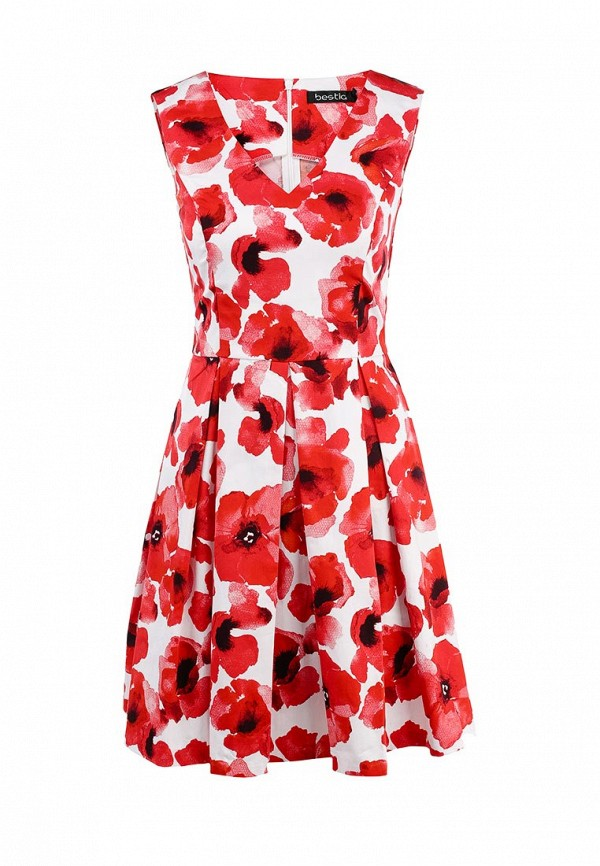 Платье-миди Bestia 52000443: изображение 1