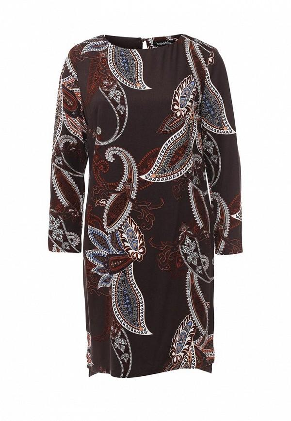 Платье-миди Bestia 40200200199: изображение 1