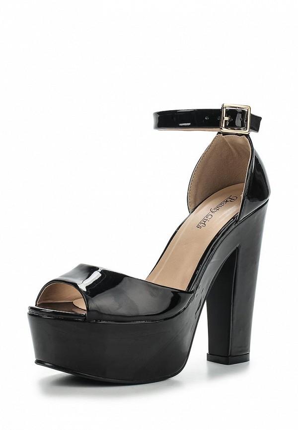 Босоножки на каблуке Beauty Girls L-571: изображение 1