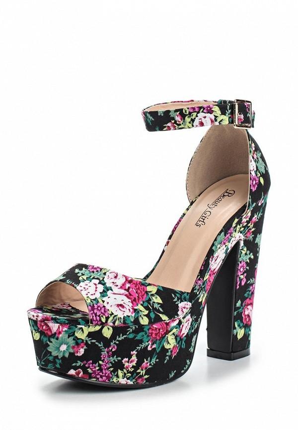 Босоножки на каблуке Beauty Girls L-572: изображение 1