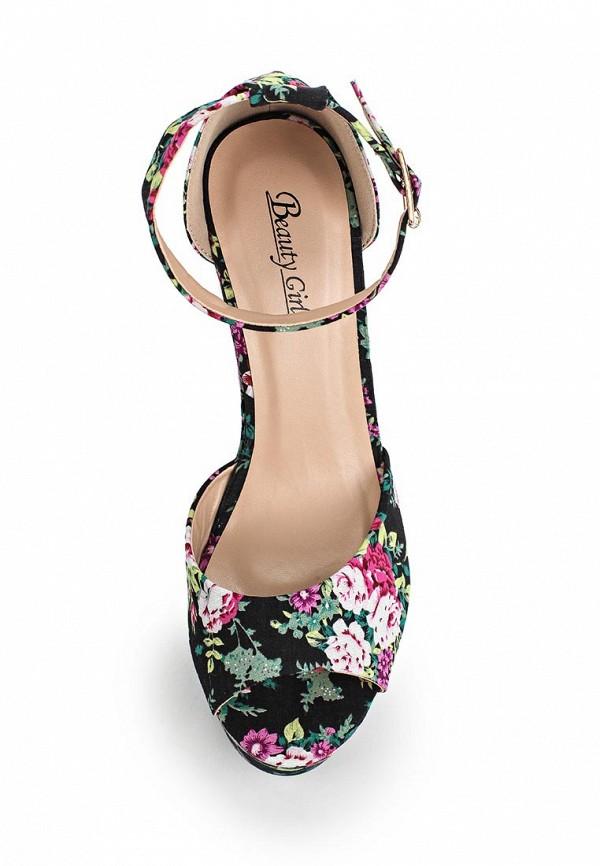 Босоножки на каблуке Beauty Girls L-572: изображение 4
