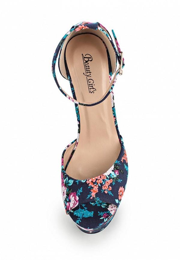 Босоножки на каблуке Beauty Girls L-572: изображение 8