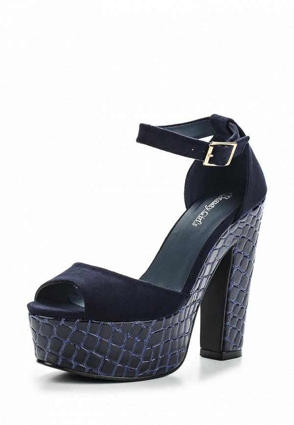 Босоножки на каблуке Beauty Girls L-573: изображение 1