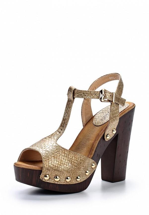 Босоножки на каблуке Beauty Girls ML-1: изображение 1