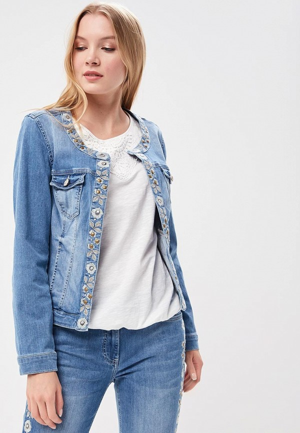 Куртка джинсовая Betty Barclay Betty Barclay BE053EWZZS23 betty barclay футболка betty barclay ta46080508 7842