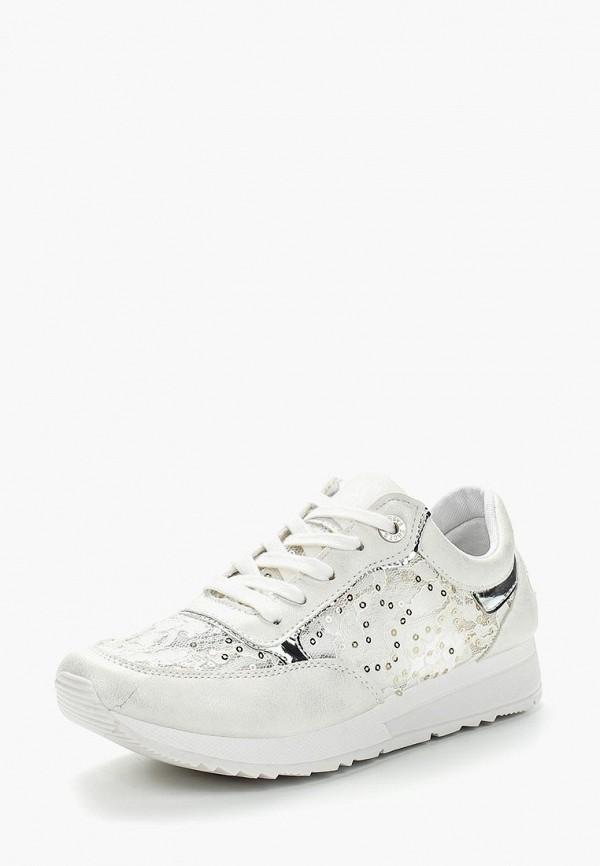 Фото - женские кроссовки Bellamica белого цвета