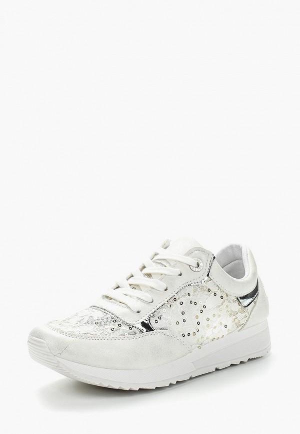 Фото 6 - женские кроссовки Bellamica белого цвета