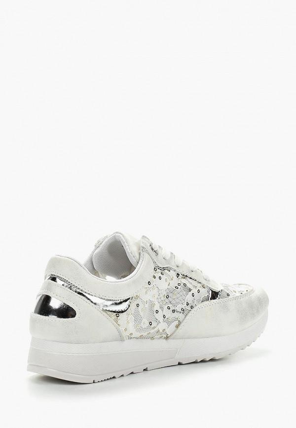 Фото 2 - женские кроссовки Bellamica белого цвета