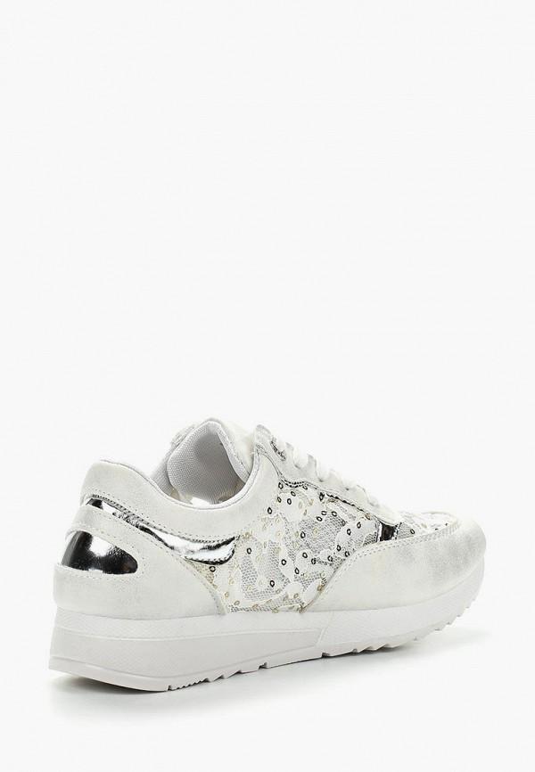 Фото 7 - женские кроссовки Bellamica белого цвета