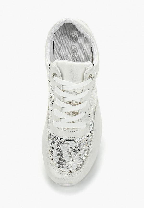 Фото 9 - женские кроссовки Bellamica белого цвета