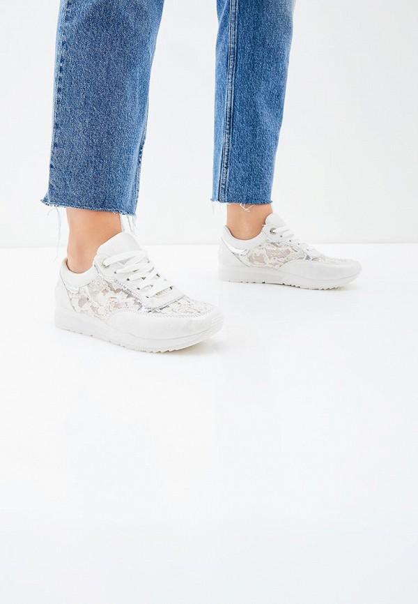 Фото 5 - женские кроссовки Bellamica белого цвета
