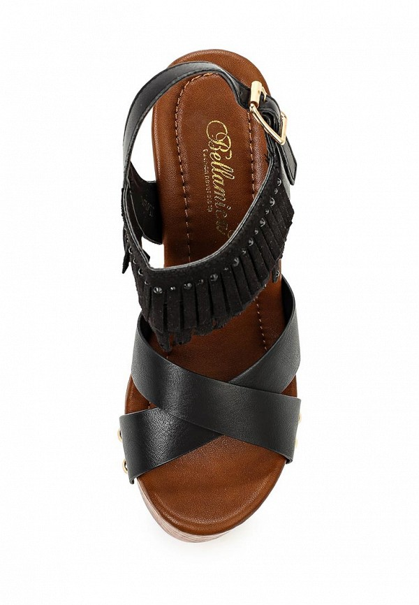 Босоножки на каблуке Bellamica F24-B-JL61E: изображение 4