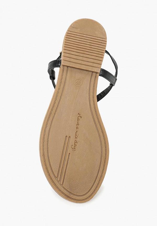 Фото 8 - женские сандали Bellamica черного цвета