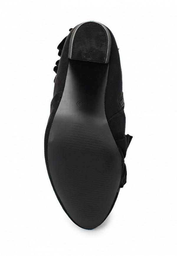 Фото 3 - женские ботильоны Bellamica черного цвета