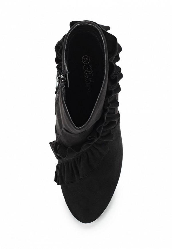 Фото 4 - женские ботильоны Bellamica черного цвета