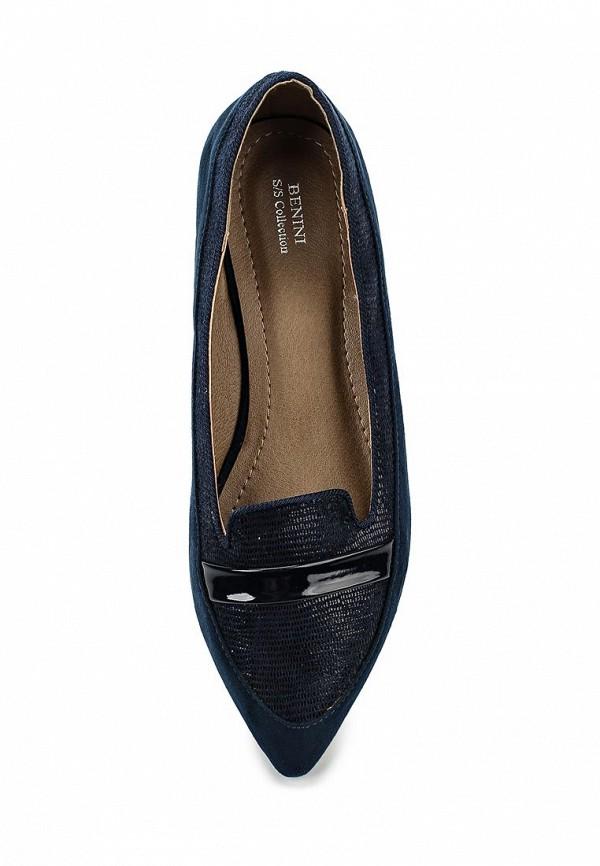 Туфли на плоской подошве Benini A5146: изображение 4