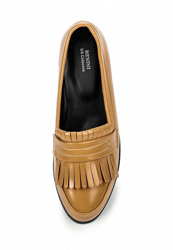 Туфли на плоской подошве Benini A5147: изображение 4