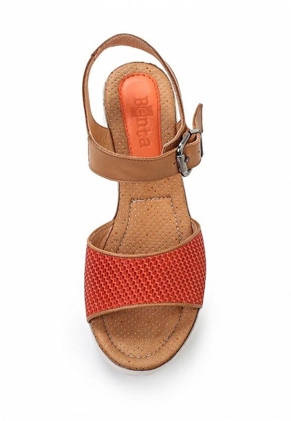 Босоножки на каблуке Benta 23914-78: изображение 4